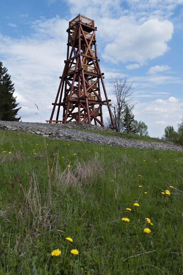 Rozhledna na Moravském kopci