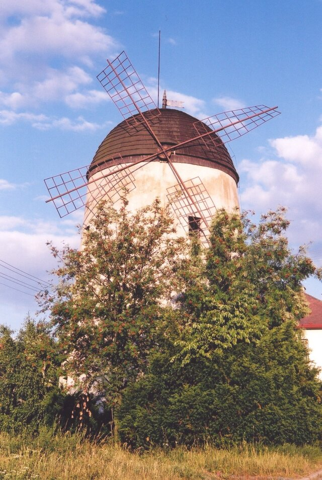 Třebíč - větrný mlýn