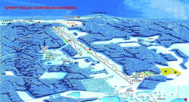Ski areál Monínec