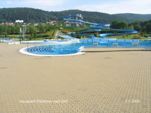 Aquapark v Klášterci