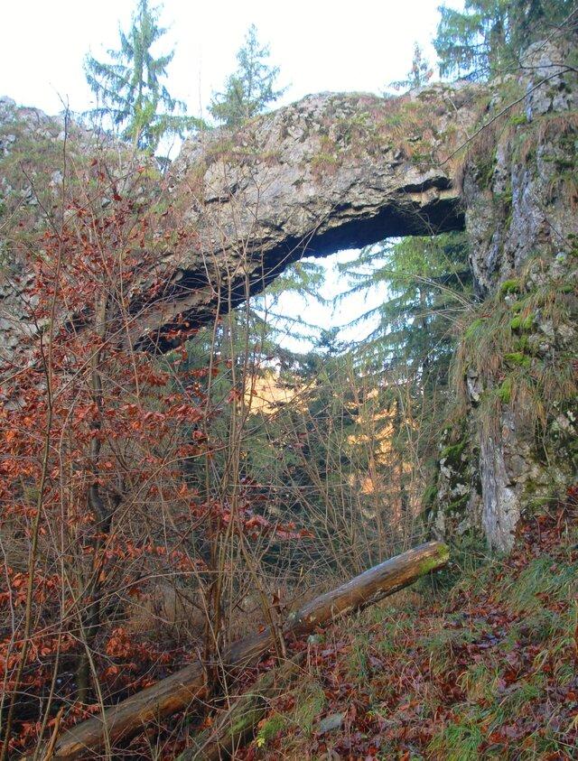 Čertův most v Suchém žlebu