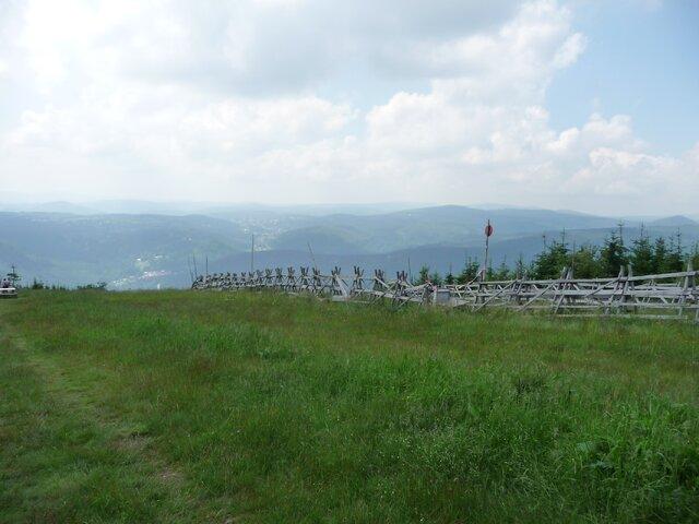 Vycházkové trasy na vrcholu Čertovy hory