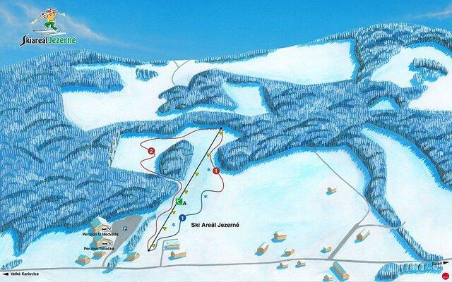 Ski areál Jezerné