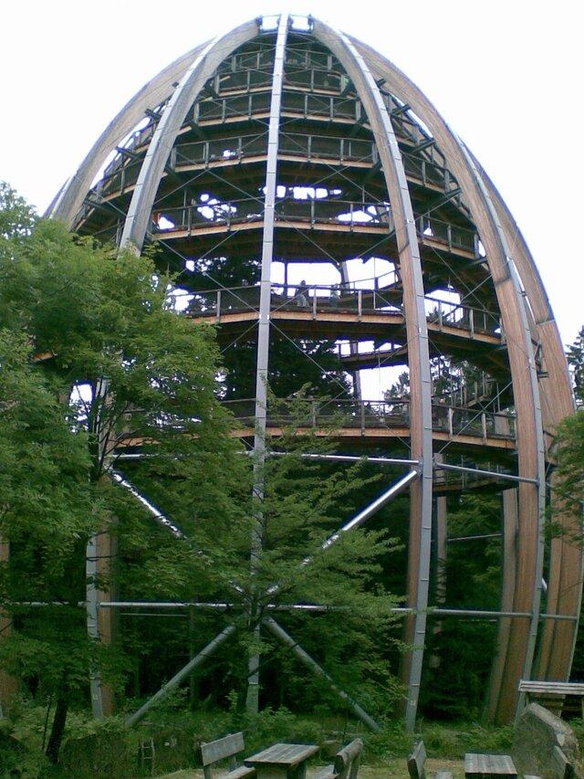 Stezka v korunách stromů Neuschönau