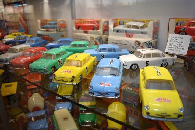 Muzeum autíček na zámku Příseka