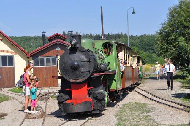 Muzeum průmyslových železnic a úzkokolejka ve Zbýšově
