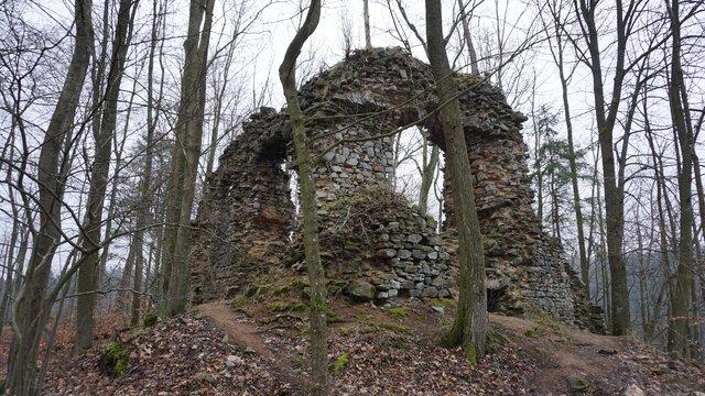 Zřícenina hradu Blansek