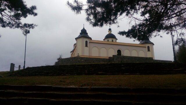 Sušice - kaple Anděla Strážce