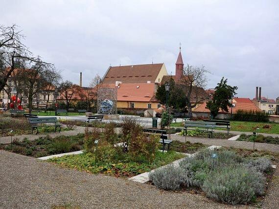 Kapucínská zahrada Žatec