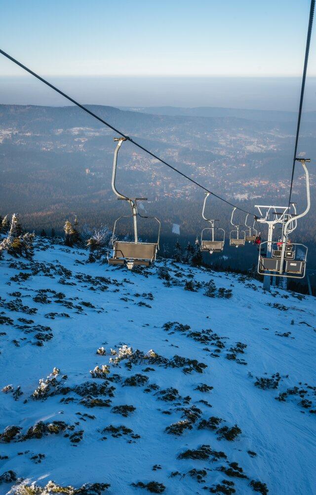 Ski arena Szrenica ve Sklářské Porubě