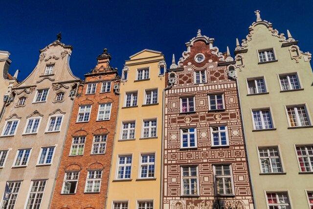 Ulice Dluga v Gdaňsku