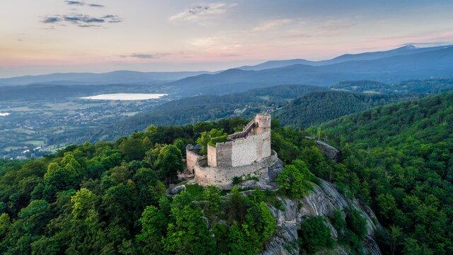 Zřícenina hradu Chojnik