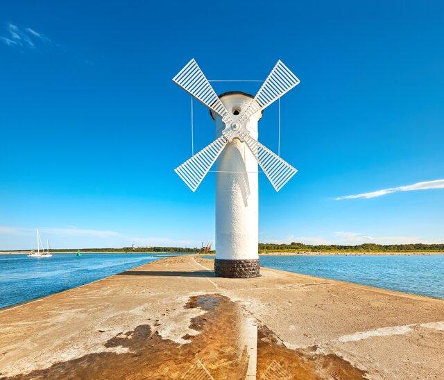 Větrný mlýn Svinoústí
