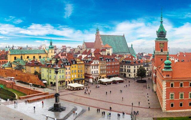 Staroměstské náměstí ve Varšavě
