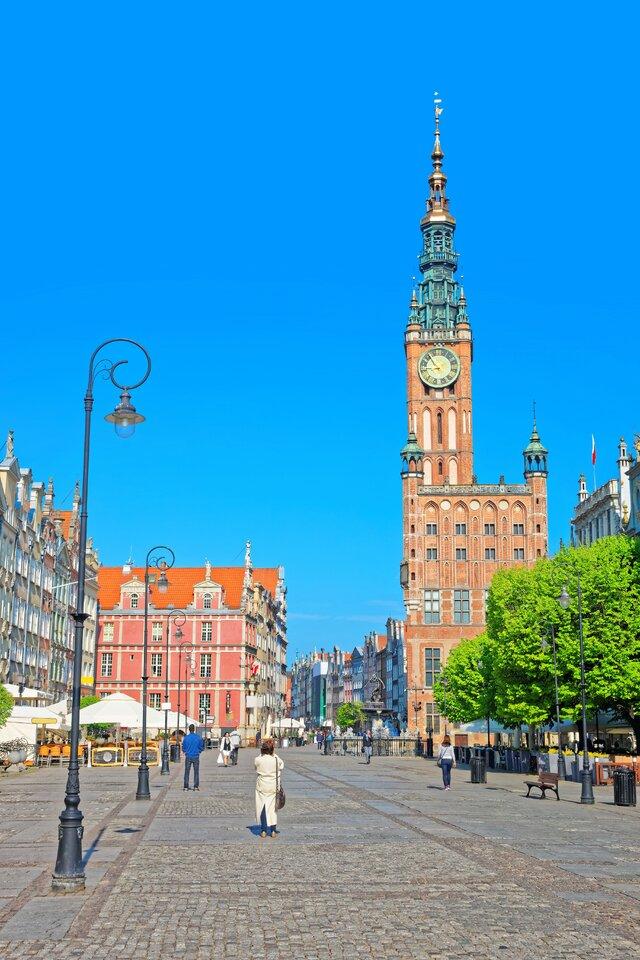 Hlavní radnice v Gdaňsku
