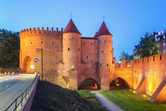 Varšavský Barbakan