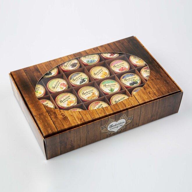 24× pečený čaj (à 60 ml) + univerzální dárková krabička