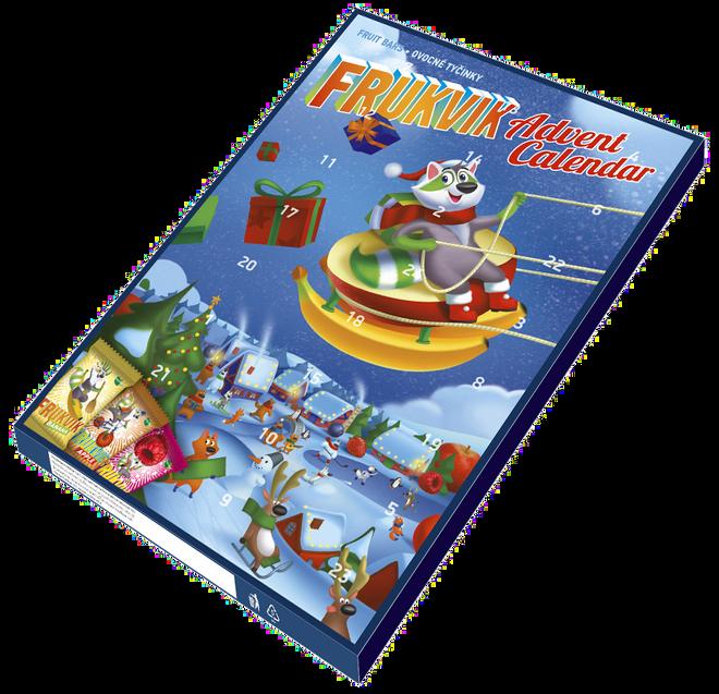 Adventní kalendář Frukvik