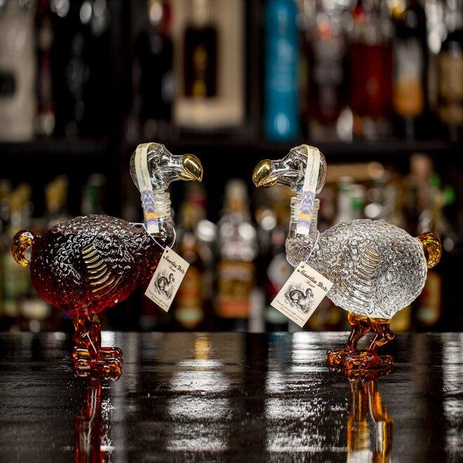 Mauritius Dodo Clear + Dodo Dark Hand Made Bottles