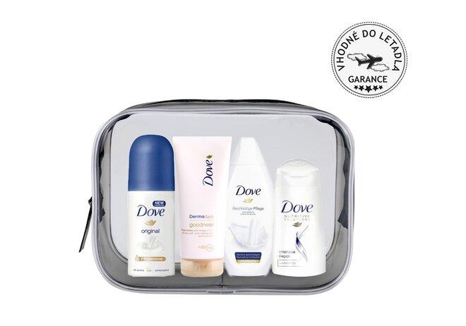 Cestovní kosmetická sada Pro tělo a vlasy