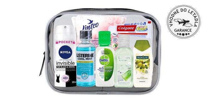 Cestovní kosmetická sada Hygiena pro ženy