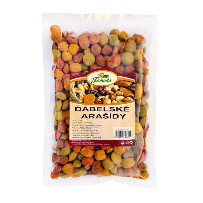 Ďábelské arašídy, 500 g