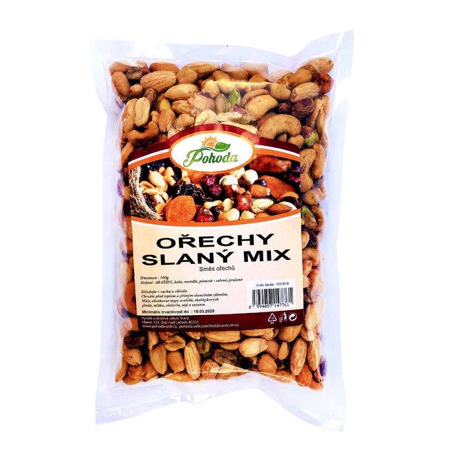 Ořechy slaný mix, 500 g