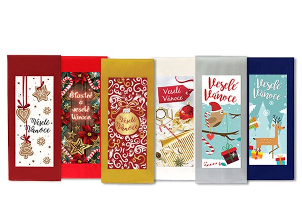 Balíček vánočních čajů, 6 ks