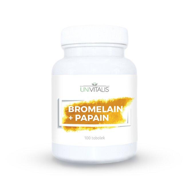 Bromelain + Papain - 100 tbl.