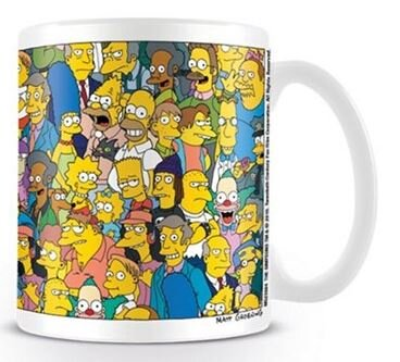 Keramický hrnek The Simpsons - Characters