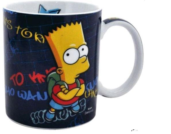 Porcelánový hrnek The Simpsons - Bart