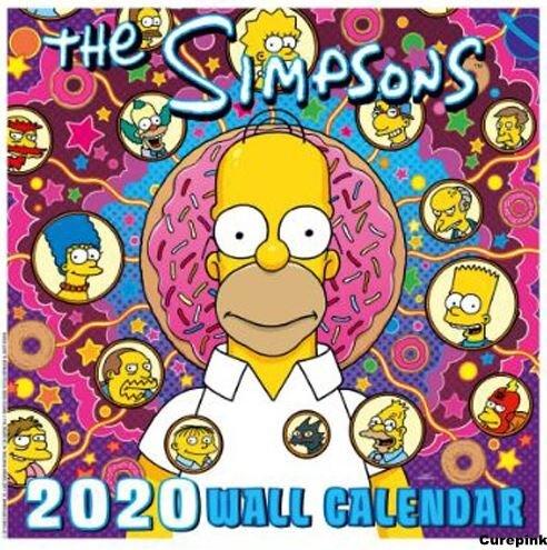 Oficiální kalendář The Simpsons 2020