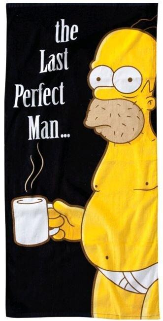 Osuška The Simpsons - Homer Last Perfect Man