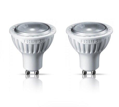 2 LED žárovky PHILIPS 3W GU10 - stmívatelné