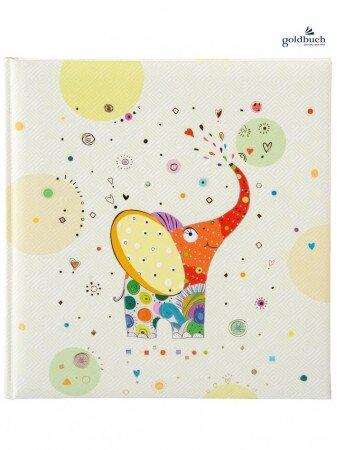 Šité fotoalbum růžkové ELEPHANT 60 stran