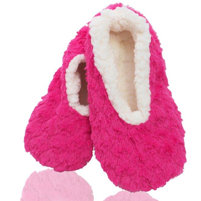 Dámské teplé papuče z ovčí vlny