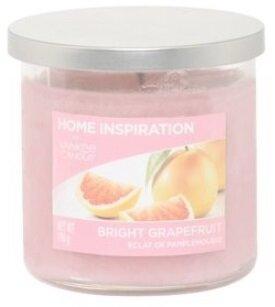 Yankee Candle Bright Grapefruit 198 g + svíčka Opravdová růže 49 g