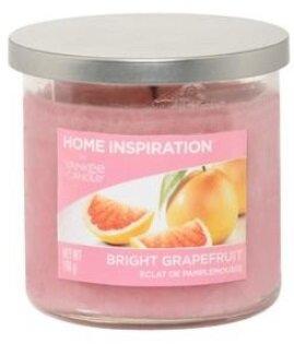 Yankee Candle Bright Grapefruit 340 g + svíčka Měsíční svit, 49 g