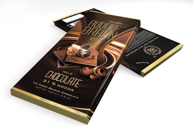 Mléčná čokoláda, 31 % kakaa