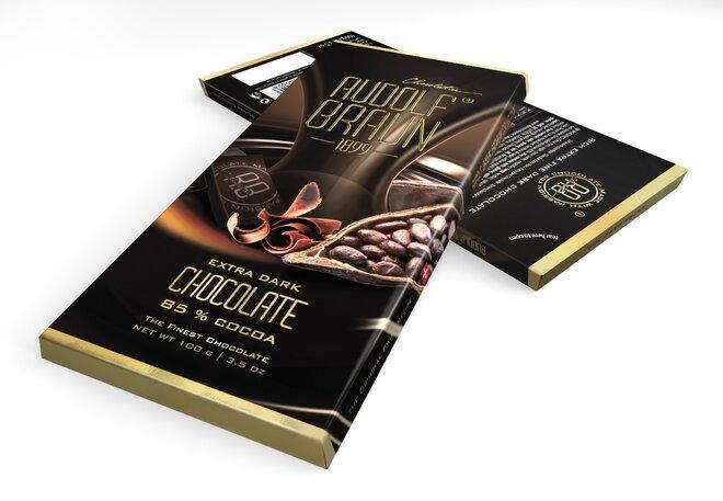 Extra hořká čokoláda, 85 % kakaa