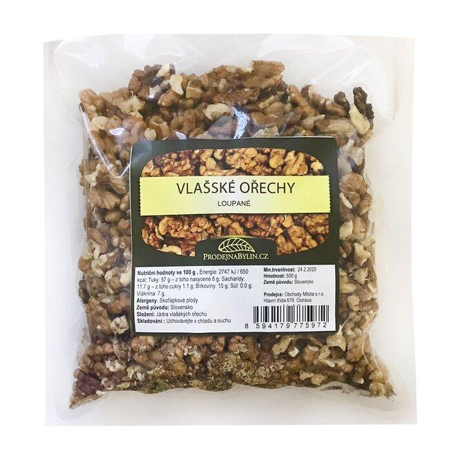Vlašské ořechy, 500 g