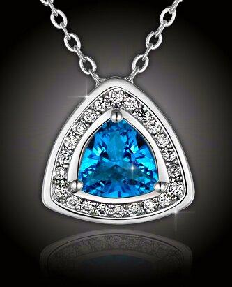 Atraktivní náhrdelník Modré z nebe