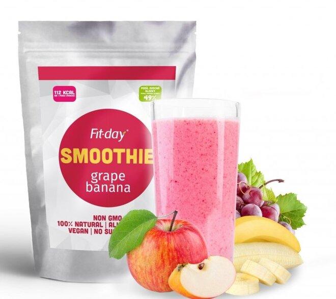 Smoothie hrozno a banán, 90 g (3 porce)