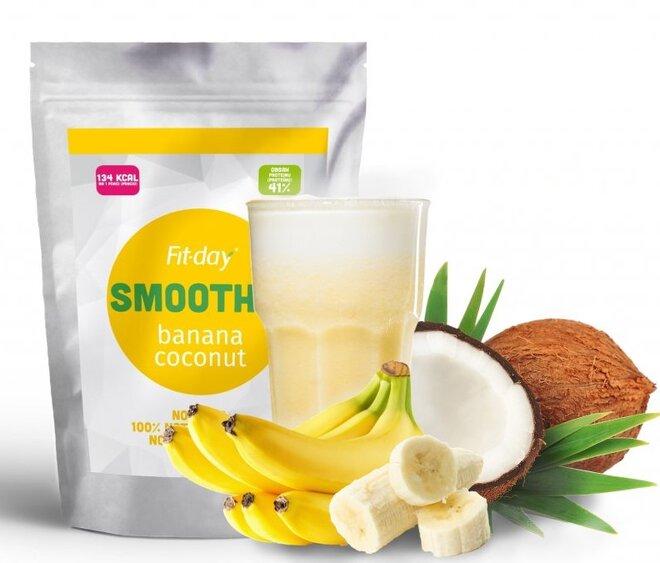 Smoothie banán a kokos, 90 g (3 porce)