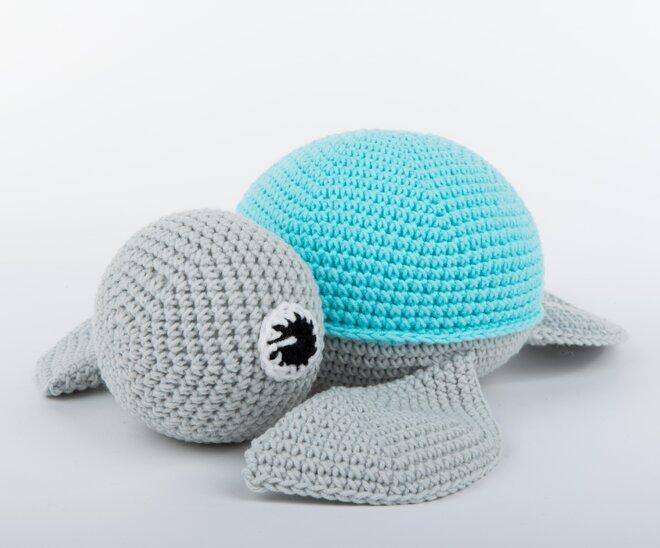 Modrá želva