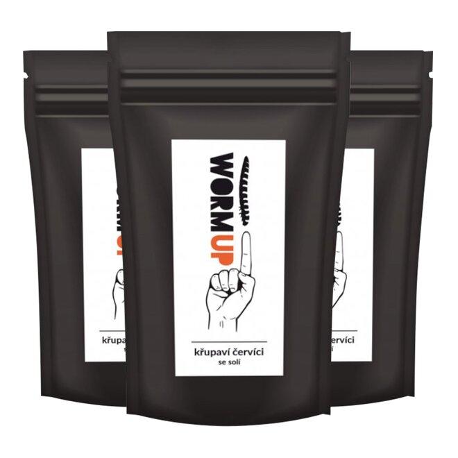 3x křupaví červíci se solí (à 20 g)