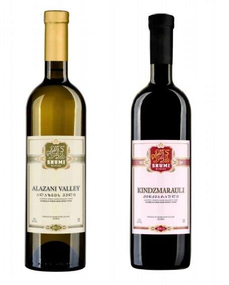 Set polosladkých vín z vinařství Shumi