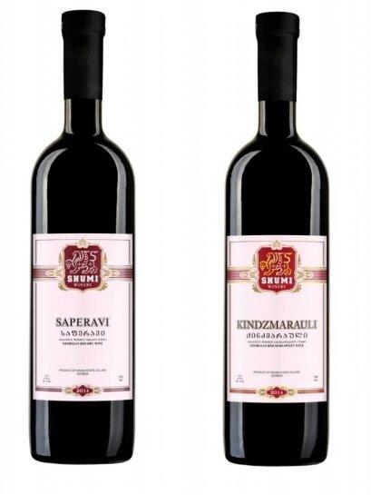 Set červených vín z vinařství Shumi