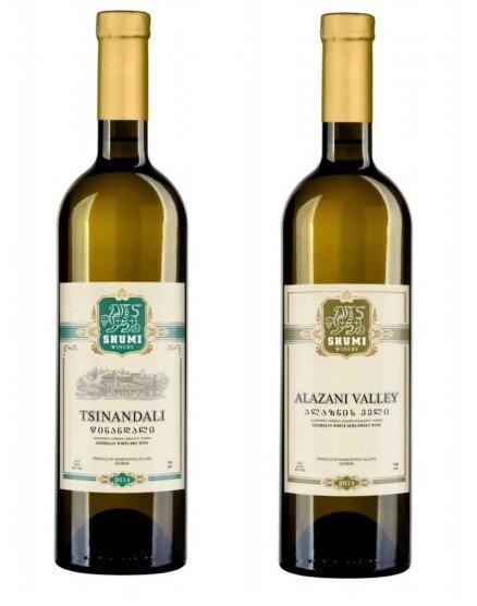Set bílých vín z vinařství Shumi