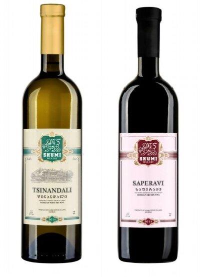Set suchých vín z vinařství Shumi